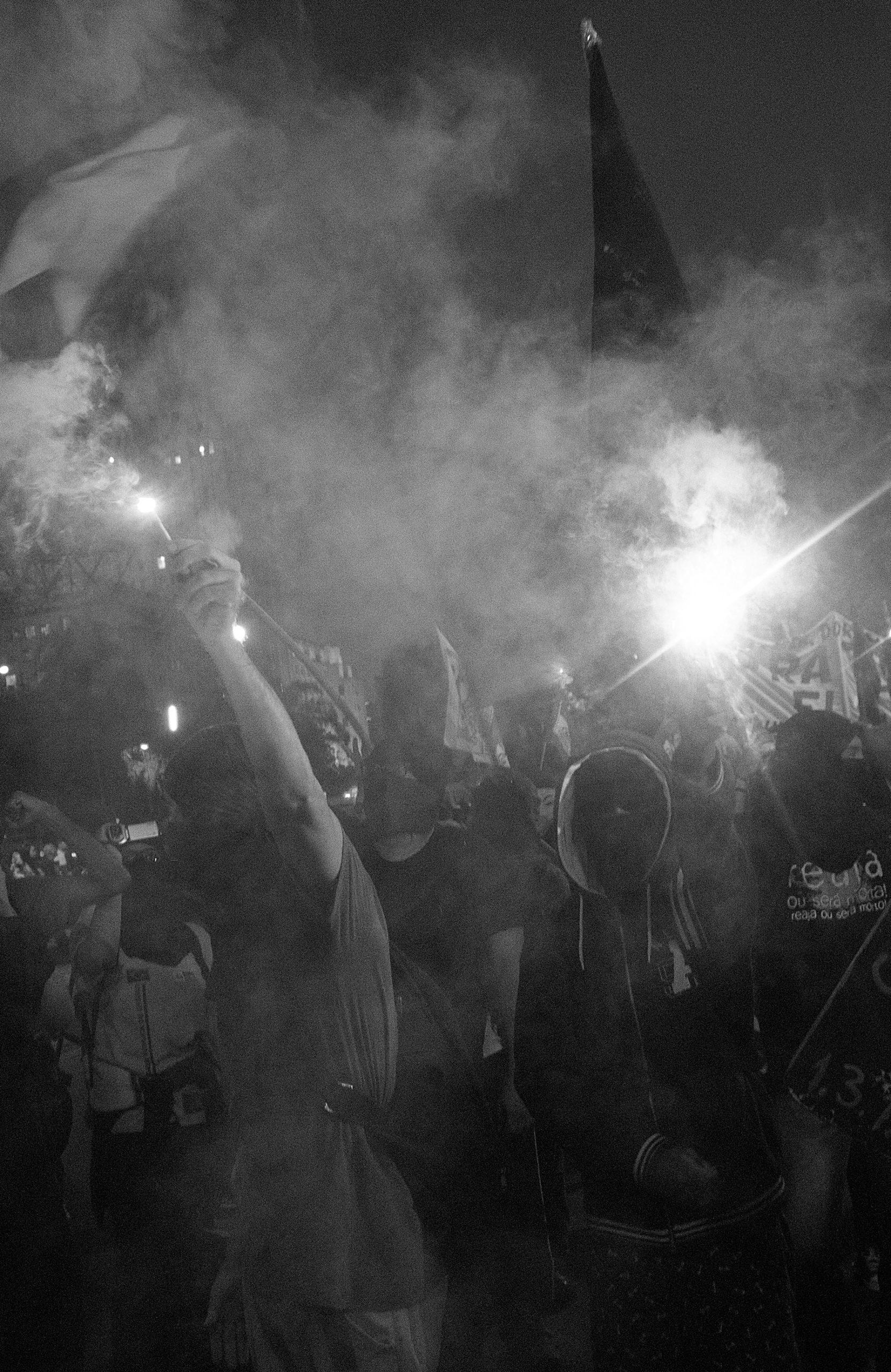 Protesto no Centro do Rio
