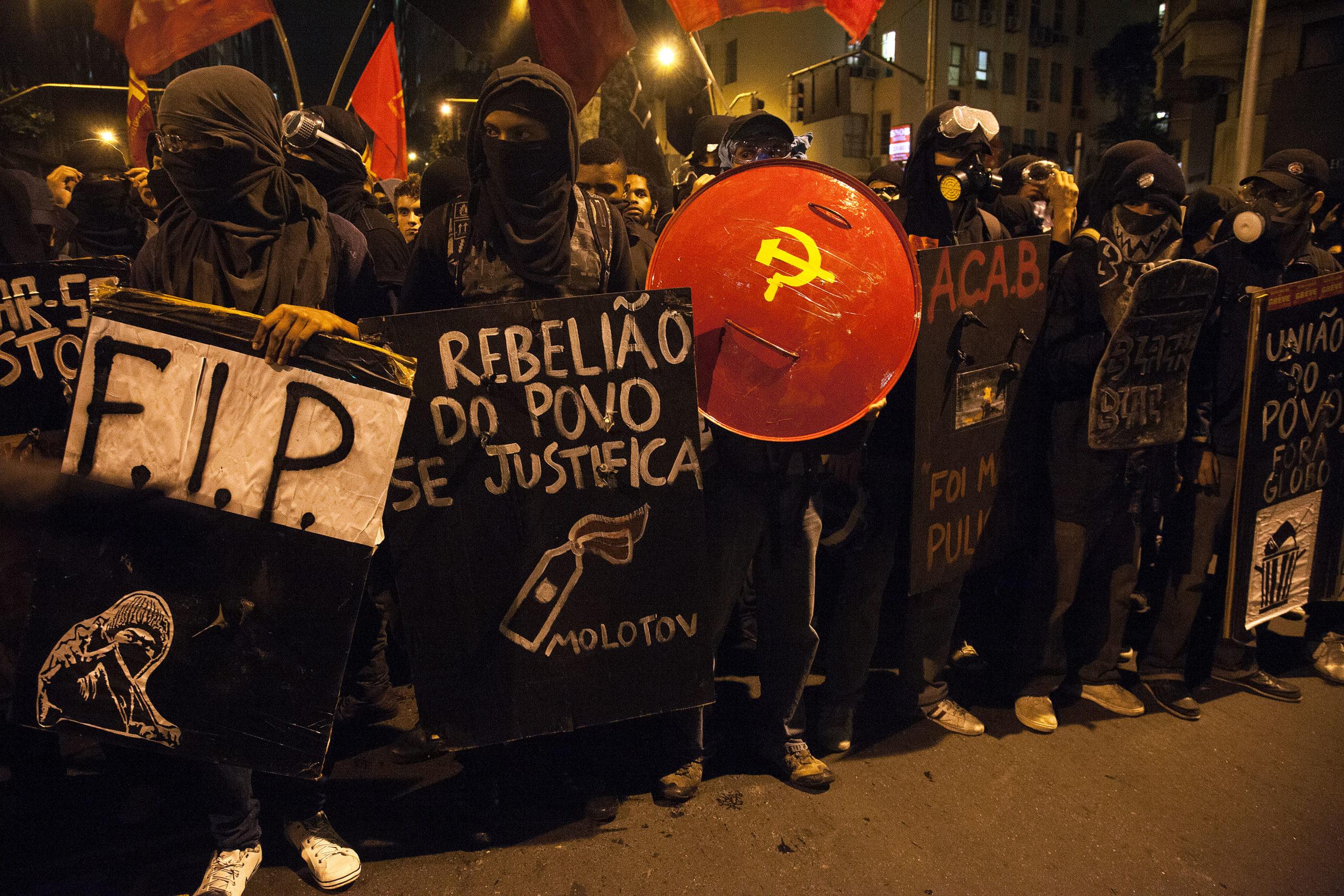 Protesto outubro de 2013
