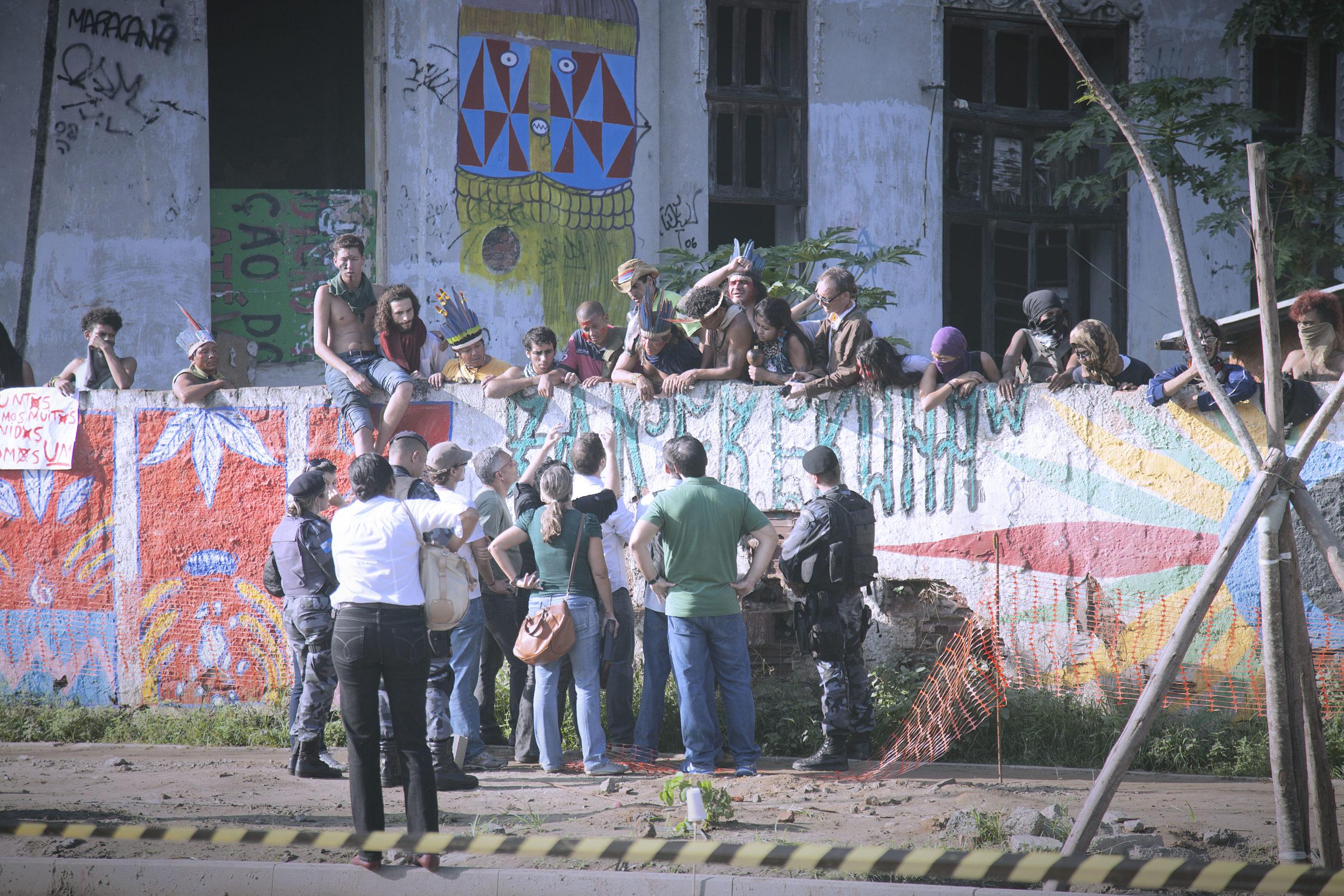 Remoção forçada da Aldeia Maraká'nà - Mar/2013